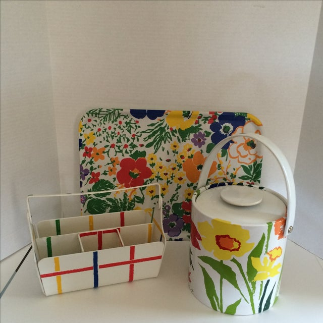 Mid Century Preppy Summer Picnic Set - Image 2 of 8