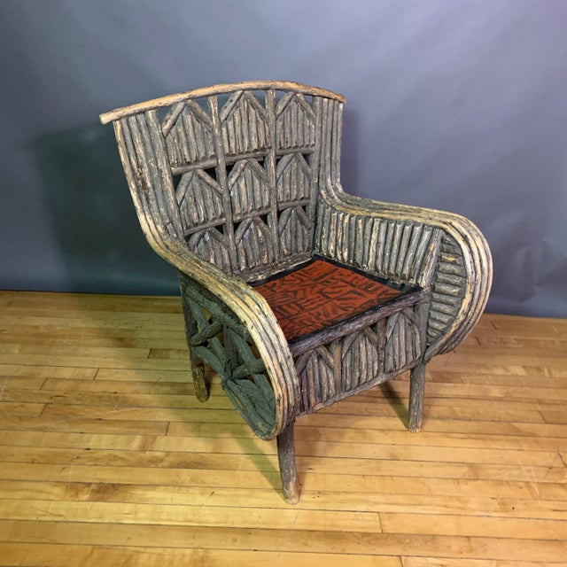 Pair of 1930s New Hampshire Adirondack Chairs For Sale - Image 10 of 12