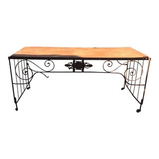 French Antique Table or Desk
