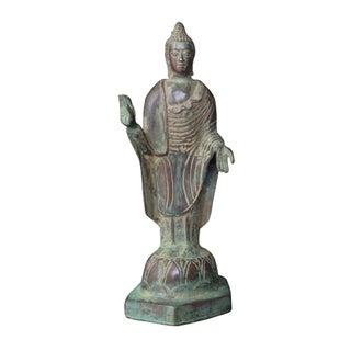 Vintage Buddha Metal Figurine