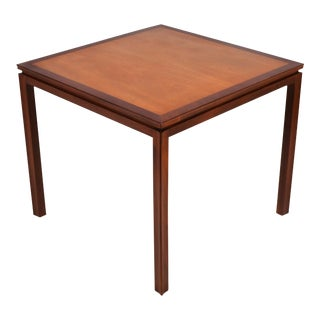 Edward Wormley Game Table by Dunbar For Sale