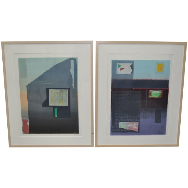 Robert Inman Lithographs - A Pair For Sale