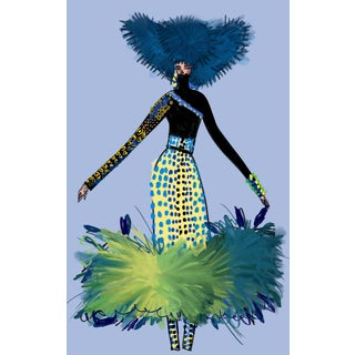 """Jean Paul Gaultier Couture 2019"" Limited Edition Print by Annie Naranian For Sale"