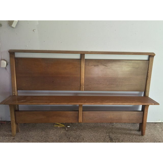 This Mid Century Modern bedframe was purchased in 1955 and was well cared for by the original owner for 60 years. It has...