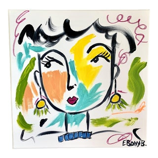 Betty Abstract Face Painting For Sale