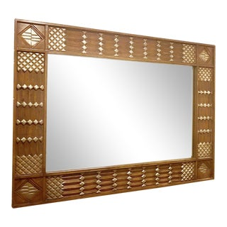 Boho Chic Wall Mirror For Sale