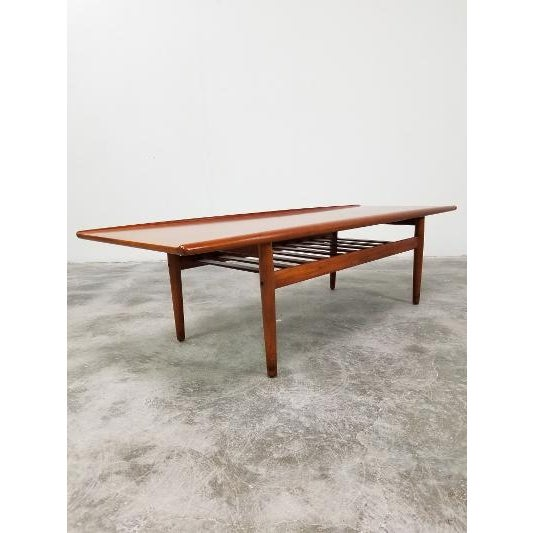 1960s Mid-Century Danish Coffee Table by Grete Jalk For Sale - Image 11 of 11