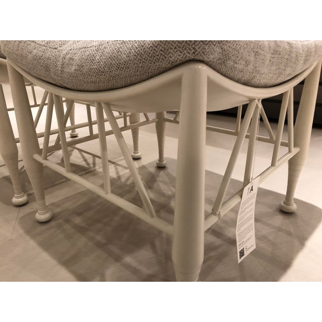 Traditional Theodore Alexander Hayward II Stool - Pair For Sale - Image 3 of 8