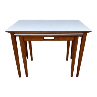1960s Mid-Century Modern Nesting Tables - Pair For Sale