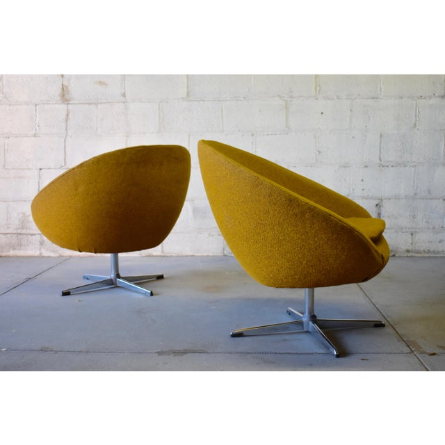Pair - Mid Century Modern Overman Chrome Lounge Chairs For Sale - Image 4 of 6