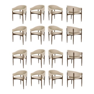 Set of 16 Enroth Dining Chairs For Sale