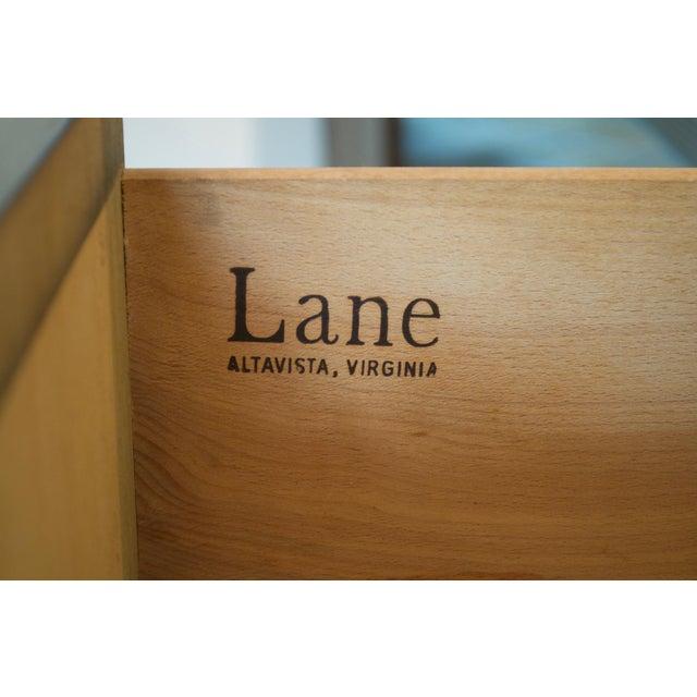 Lane Vintage Black Campaign Chest - Image 6 of 7