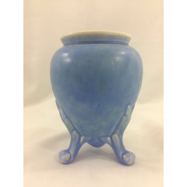 Blue Footed Weller Vase Chairish