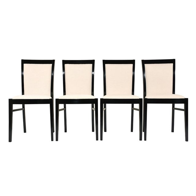 Set of Eight Regency-style Dining Chairs - Image 3 of 10