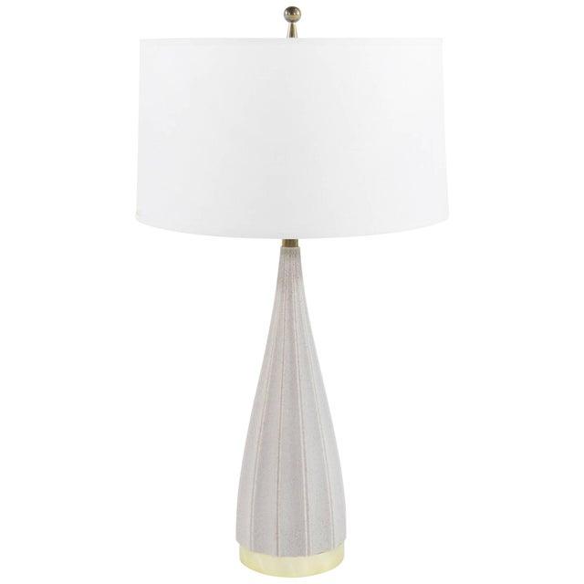 White Porcelain Table Lamp by Gerald Thurston for Lightolier, 1950s For Sale - Image 8 of 8