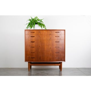 Fine Danish Teak Bow-Front Dresser Preview