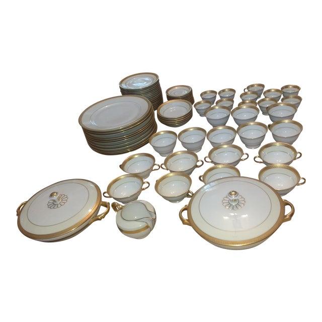 Fine Bone China Dish Set - 67 Pieces - Image 1 of 7