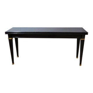 Maison Jansen Lacquered Console/Dining Table