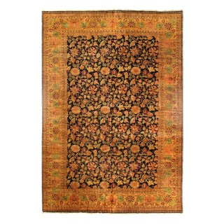 """Pasargad Indo Agra New Zealand Wool Rug - 12′2"""" ×18′2"""" For Sale"""