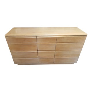Heywood Wakefield Encore Birch Triple Dresser