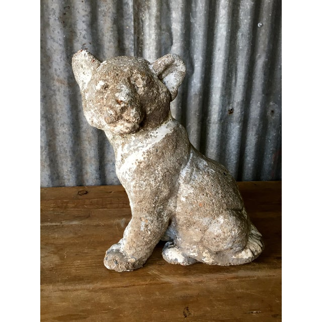 Vintage Concrete Tiger Cub - Image 3 of 7