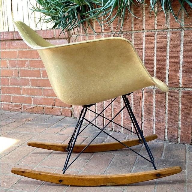 Mid-Century Modern 1950s Eames Herman Miller Zenith Rocker For Sale - Image 3 of 13