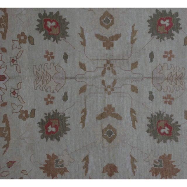 Turkish Oushak Design Hand Woven Wool Rug - 4' X 6' - Image 2 of 5