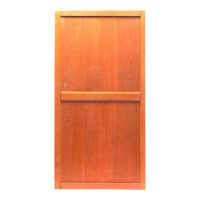 Japanese Solid Wooden Door For Sale