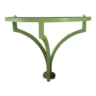 Extra Large Demi-Lune Wall Bracket by Irwin and Lane For Sale