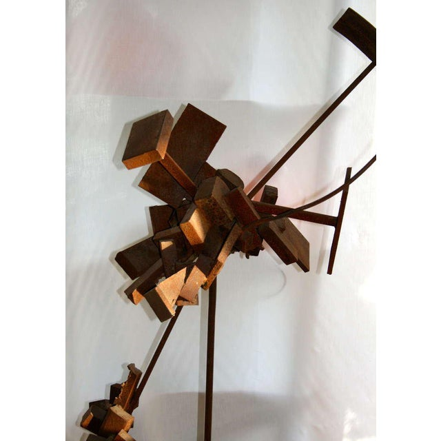 Bertoia Style Sculpture For Sale In New York - Image 6 of 8