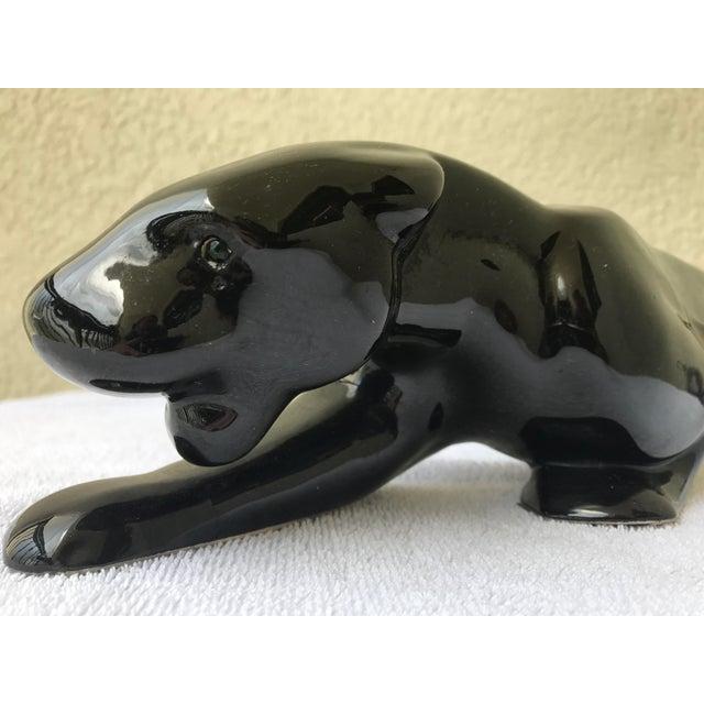 Royal Haeger Black Panther Sculpture - Image 7 of 10