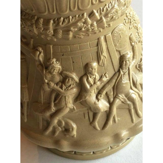 Tan Antique Ridgway Drabware Jug For Sale - Image 8 of 12