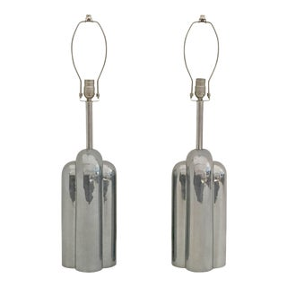 Art Deco Style Streamline Lamps by Westwood - a Pair For Sale