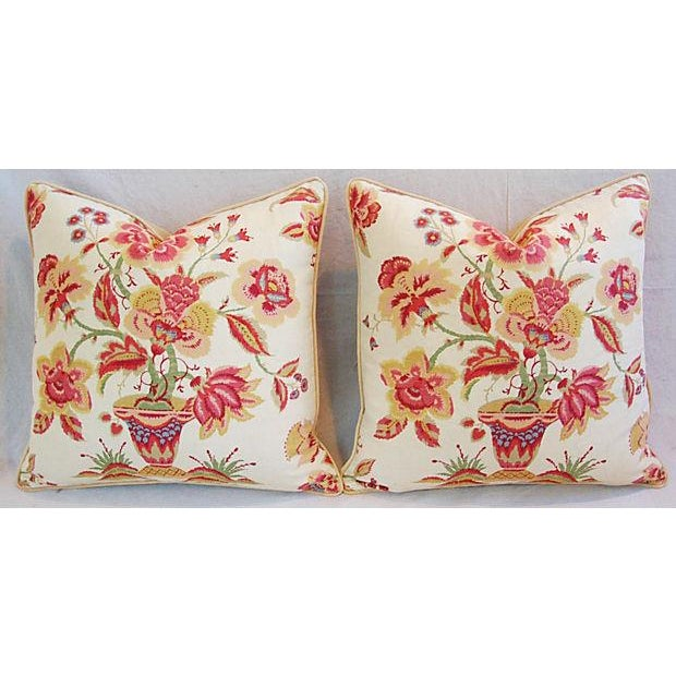 Custom Designer Lee Jofa Pillows - A Pair - Image 8 of 8