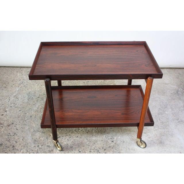 Poul Hundevad Rosewood Modular Bar Cart - Image 7 of 13