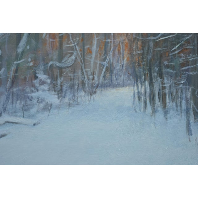 """2010s Stephen Remick """"Crossing Destruction Brook"""" Contemporary Painting For Sale - Image 5 of 12"""