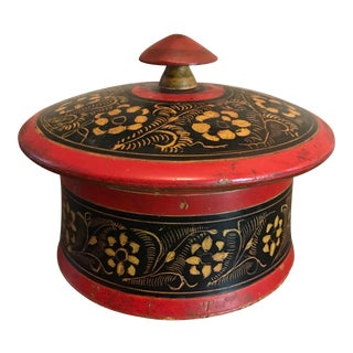 Punjabi Wooden Spice Box For Sale