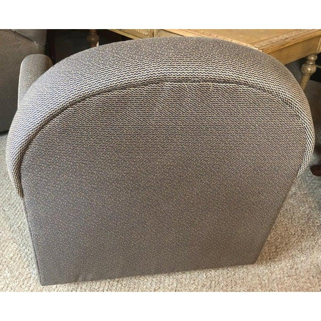 1960s Pace by Directional Leon Rosen Style Mid-Century Modern Swivel Chairs - a Pair For Sale - Image 5 of 9