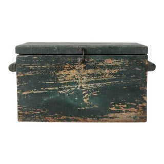 Antique Wooden Box For Sale