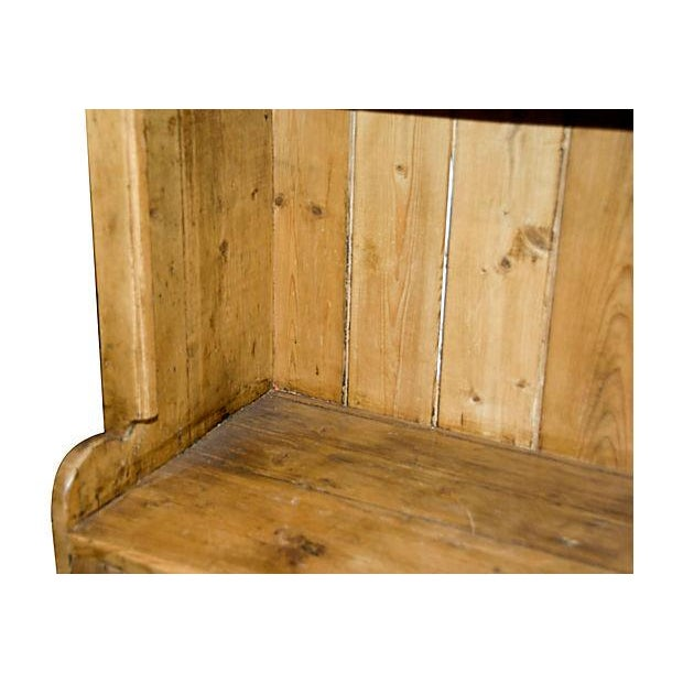 Antique Irish Pine Cupboard For Sale - Image 4 of 6