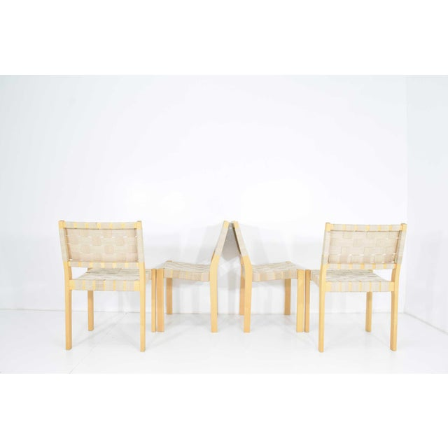 Alvar Aalto 615 Chairs by Artek - Set of 8 For Sale In Dallas - Image 6 of 10