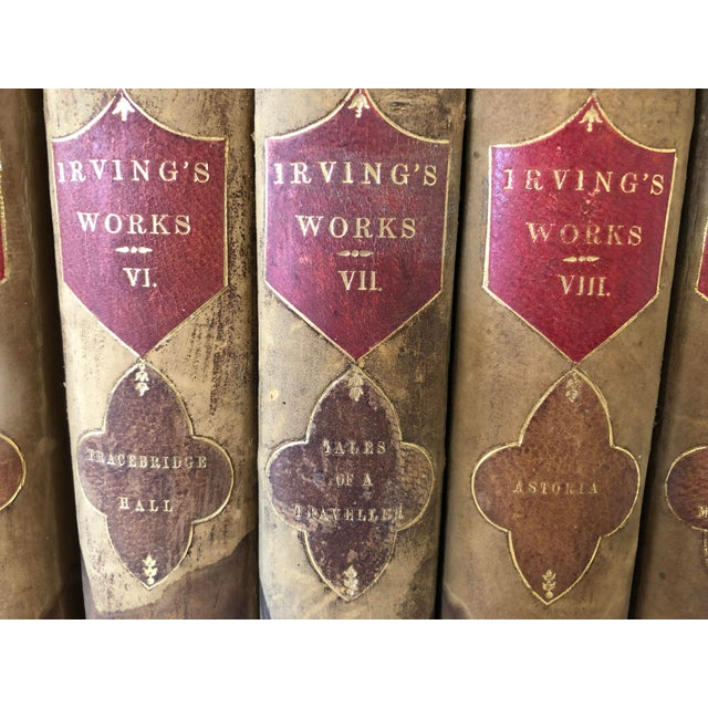 Irvings Works, 15 Volume Set, 1853 For Sale - Image 4 of 11