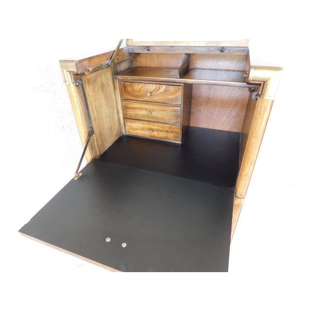 Metal Drexel Accolade Campaign Style 6 Drawer Lingerie Chest 905-400 For Sale - Image 7 of 13