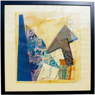 """""""Geometry"""" Original Painting by Martha Holden For Sale"""