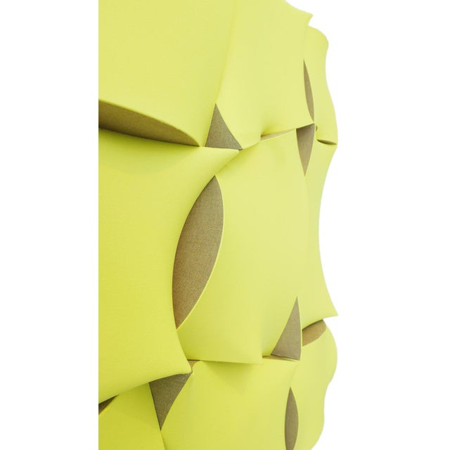 """2010s Jan Maarten Voskuil """"Non-Fit Broken Light Yellow"""" Acrylics on Linen, 2017 For Sale - Image 5 of 10"""