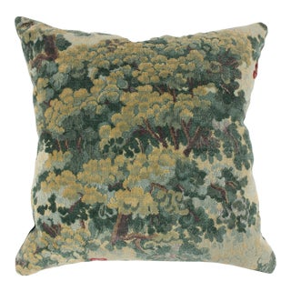 Lee Jofa Green Tapestry Throw Pillow