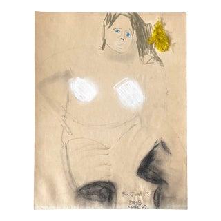 Dan Basen Drawing on Paper For Sale