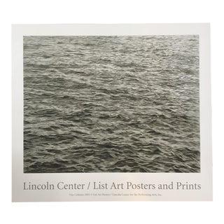 Vija Celmins Ocean Print