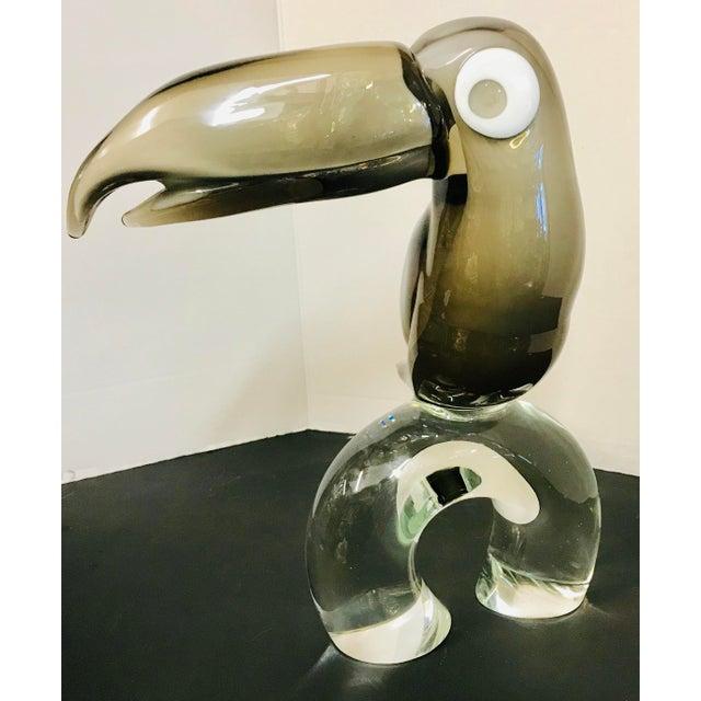 Licio Zanetti Handblown Toucan Bird Art Glass Figurine For Sale - Image 13 of 13