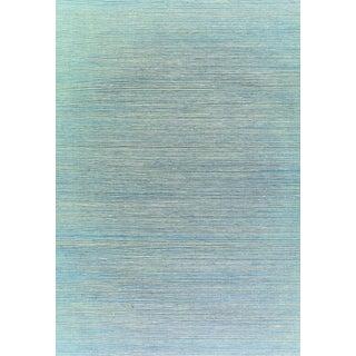 Sample - Schumacher X Celerie Kemble Haiku Sisal Wallpaper in Taupe For Sale